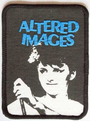 Altered Images - 'Clare Grogan' Vintage Printed Patch