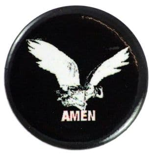 Amen - 'Wings' Button Badge