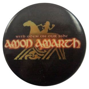 Amon Amarth - 'With Oden on Our Side' Button Badge
