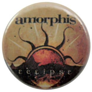 Amorphis - 'Eclipse' Button Badge