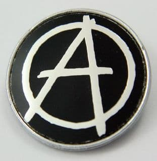 Anarchy - 'Symbol' Lapel Badge