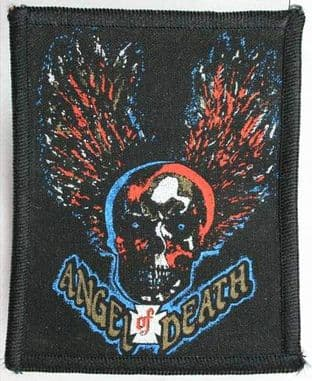 Angel of Death - 'Skull' Printed Patch