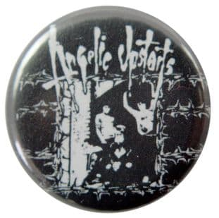 Angelic Upstarts - 'England's Alive' Button Badge