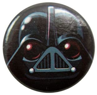 Angry Birds - 'Star Wars Darth Vader' Button Badge