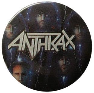Anthrax - 'Group Stars' Button Badge