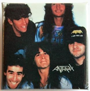 Anthrax - 'Group' Vintage Square Badge