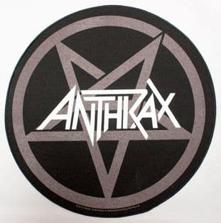 Anthrax - 'Pentathrax' Round Backpatch