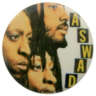Aswad - 'Group Heads' Button Badge