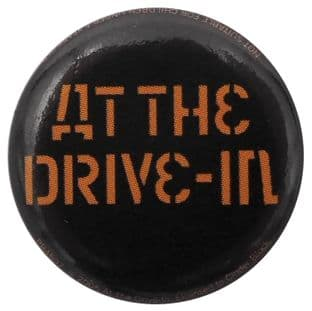At The Drive-In - 'Logo' Button Badge