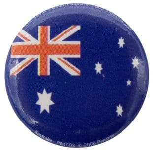 Australia Flag - Button Badge