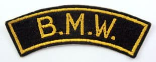 B.M.W. - Embroidered Shoulder Patch