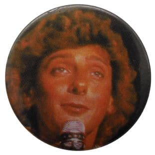 Barry Manilow - 'Barry Microphone' Button Badge