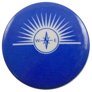 Big Country - 'Compass Blue' Button Badge