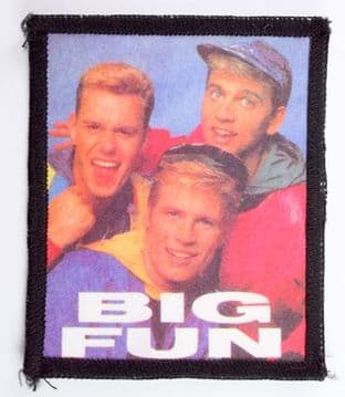 Big Fun - 'Group' Printed Patch