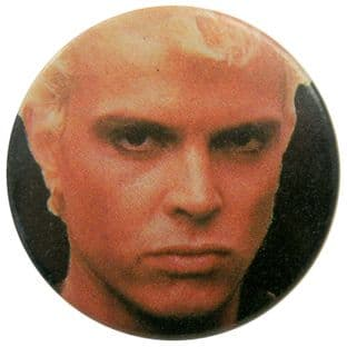 Billy Idol - 'Billy Close Up' Button Badge