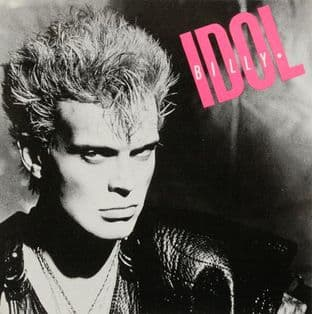 Billy Idol - Square Sticker