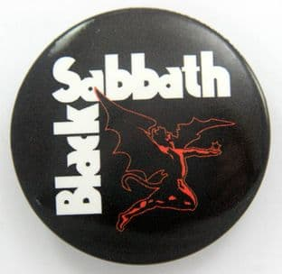 Black Sabbath - 'Devil' Large Button Badge