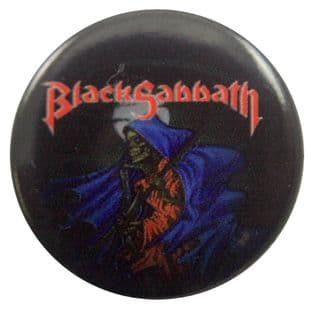 Black Sabbath - 'Forbidden' Button Badge