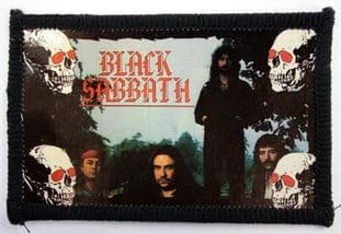 Black Sabbath - 'Group Skulls' Photo Patch