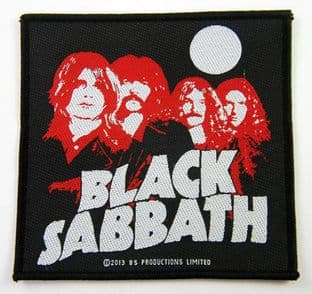 Black Sabbath - 'Group'  Woven Patch