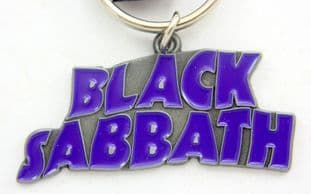 Black Sabbath - 'Logo' Enamelled Metal Keyring