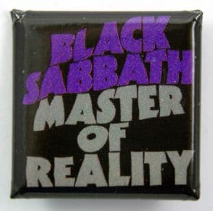 Black Sabbath - 'Master of Reality' Square Badge