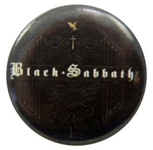 Black Sabbath - 'Name Black' Button Badge