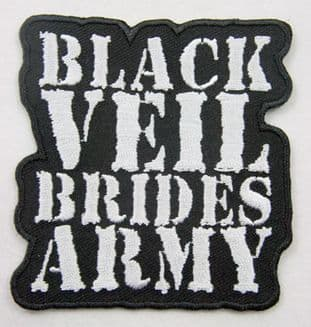 Black Veil Brides - 'Army' Embroidered Patch