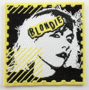 Blondie - 'Debbie' Embroidered Patch