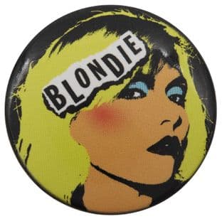 Blondie - 'Debbie Harry Pop Art' Large Button Badge