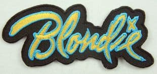 Blondie - 'Name' Woven Patch