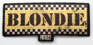 Blondie - 'Taxi Logo' Woven Patch