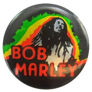 Bob Marley - 'Bob' Prismatic Button Badge
