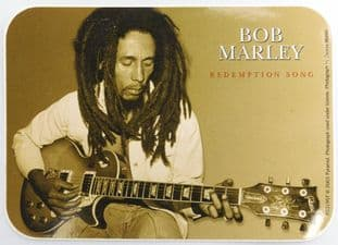 Bob Marley - 'Redemption Song' Sticker