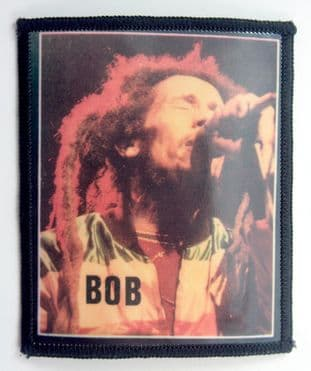 Bob Marley - 'Singing' Photo Patch