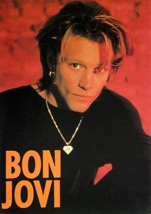 Bon Jovi - 'Jon Necklace' Sticker