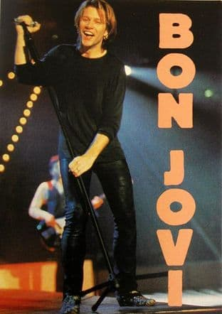 Bon Jovi - 'Jon on Stage' Sticker