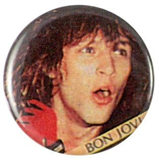 Bon Jovi - 'Jon Red Glove' Button Badge