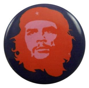 Che Guevara - 'Blue / Red' Button Badge
