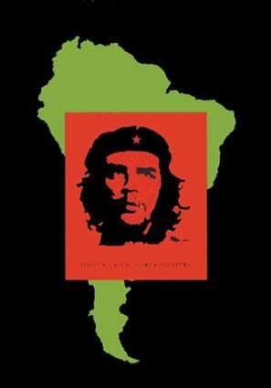 Che Guevara - 'South America' Poster Flag
