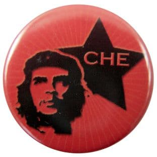 Che Guevara - 'Star' Button Badge
