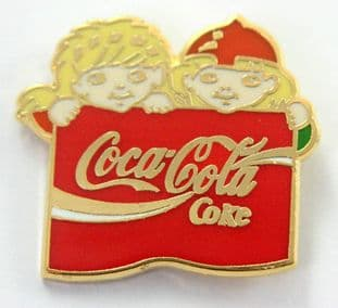 Coca Cola - 'Coke' Enamel Badge