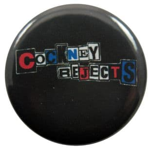 Cockney Rejects - 'Colour Logo' Button Badge