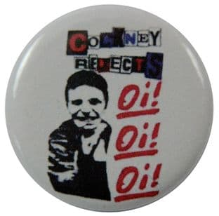Cockney Rejects  - 'Oi! Oi! Oi!' Button Badge