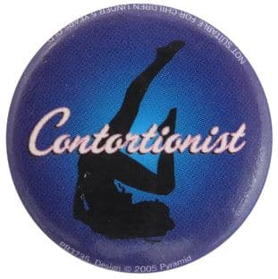 Contortionist - Button Badge