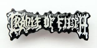 Cradle of Filth - 'Logo' Enamel Pin Badge