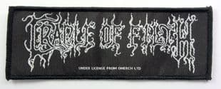 Cradle of Filth - 'Logo' Woven Patch