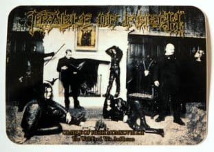 Cradle of Filth - 'The Wall Eyed, Vain And Insane' Sticker