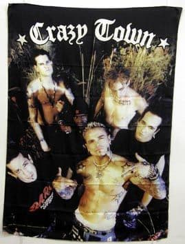 Crazy Town - 'Group' Poster Flag