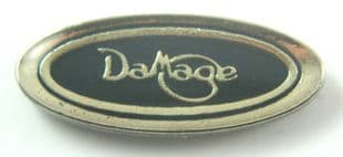 Damage - 'Logo' Lapel Badge